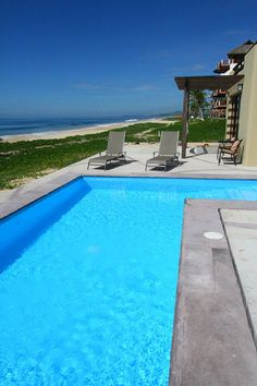 Puerto Escondido villa rental - Beachfront Swimming Pool