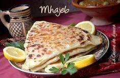 Mhadjeb, recette de