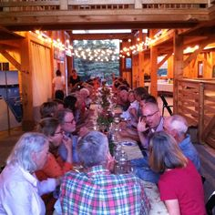 Nebo Lodge on North Haven Island, farm to table dinners