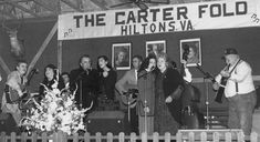 Johnny Cash, June Carter Cash And The Family Perfoming At The Carter Fold [Courtesy/Carter Family Fold] June Carter Cash, Carter Family, Country Musicians, Bluegrass Music, Johnny Cash, American Country, Virginia, Old Things, Concert