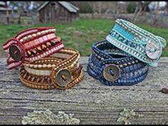 West County Cuff: Multi-Row Wrap Bracelet - YouTube