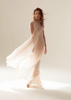 Image of RUBICON WASHED CHIFFON SHEATH DRESS