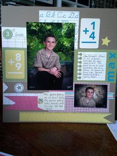 For the Record, Simply Scrappin' kit from Stampin' Up! - layout 2