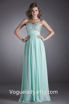 2012 New Prom Dresses Ball Gown Evening Bridesmaid by voguelady, $65.00