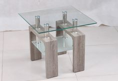 small glass tables Mdf Furniture, Glass Tables, News Design, Glass End Tables
