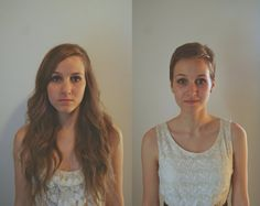 pixie cuts before and after - Google Search