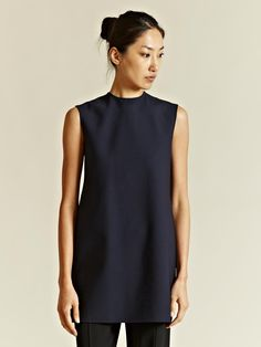 Yang Li Women's Oversized Double Faced Box Top