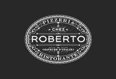 Roberto-Pizzeria-Logo-design