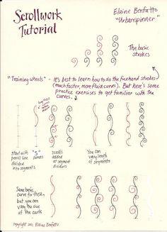 Scrollwork tutorial | Flickr - Photo Sharing!