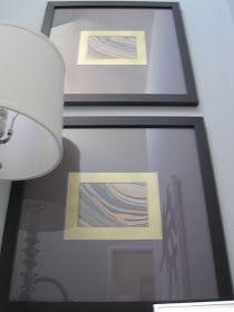Confetti and Stripes: easy diy art