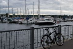 Biking at Bayfront Biking, New York Skyline, Travel, Voyage, Bicycling, Viajes, Cycling, Traveling, Ride A Bike