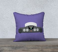 Nintendo 64 Pillow (Purple)