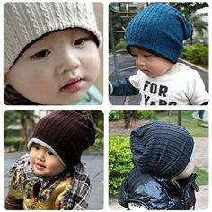1 Pcs thread baby cap Kids hats Cotton Beanie Infant cap children baby hat