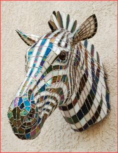 This stained glass Zebra by the amazing artist Jay Gubitz is one of my favorite pieces of stained glass sculpture.