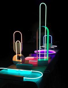 Giorgia Zanellato - Experimental neon mirage collection