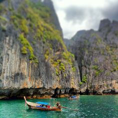 Some of our favourite #Instagram photos from around Phi Phi. The Phi Phi Islands are located in Thailand, between the large island of Phuket and the western Strait of Malacca coast of the mainland. The islands are administratively part of Krabi province.