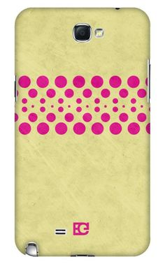 Grad Dots Yellow Pink Samsung Galaxy Note case.  Also available for iPhone, iPad 2/3 or mini, Samsung Galaxy phones