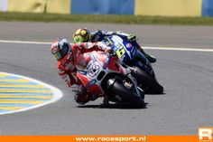 04 and 46 FrenchGP Le Mans