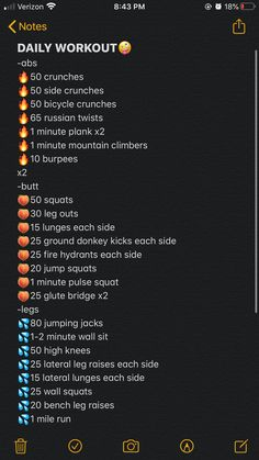 Somewhat difficult daily workout routine for athletes All Body Workout, Summer Body Workouts, Workouts For Teens, Gym Workout For Beginners, Gym Workout Tips, Fitness Workout For Women, At Home Workout Plan, Workout List, Daily Exercise Routines