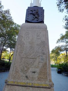 Netherlands Monument at Battery Park in New York City.