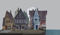 Concept art from Frozen. Disney Concept Art, Disney Art, Frozen Art, Disney Frozen, Concept Art Tutorial, Character Design Animation, Environment Concept Art, Environmental Design, Art Background