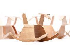 Origami-Inspired Rocking Chairs - The True Latvia Roo Rocker Chair is a Rocking Good Time (GALLERY)