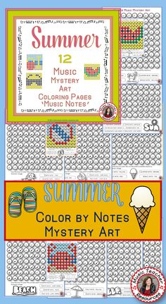 Music education   | elementary music education  |  color by music notes   |   #musiceducation    #musiced