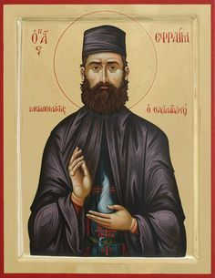 St Ephraim the New Martyr / Nea Makri Image result for Orthodox Icons -