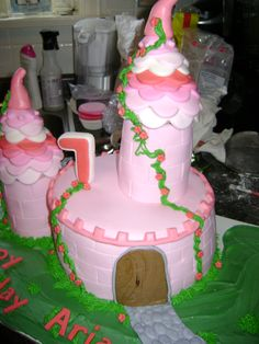 Another picture of castle Cake