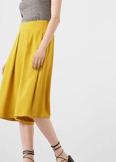 Pantalon crop - Combinaisons pour Femme | MANGO France