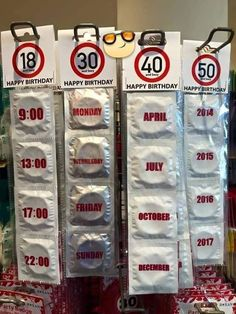 Age-Appropriate Condoms - Funny dating fails (& some wins) from the beautiful world of the internet. Funny Images, Funny Pictures, Funny Pics, Hilarious Memes, Random Pictures, Funny Humor, Funny Stuff, Happy 50th Birthday, Birthday Gifts