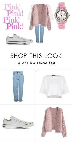 """""""Casual sunday outfit...I would wear this!!!!"""" by shycoygirl65 ❤ liked on Polyvore featuring Topshop, Converse and Chicwish"""