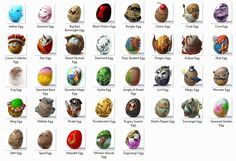 The 2012 Easter Eggs!!!