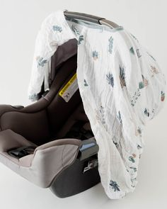 Cotton Muslin Car Seat Canopy - Prickle Pots
