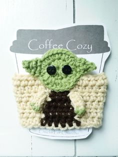 Crochet Yoda Cozy - Paid Pattern