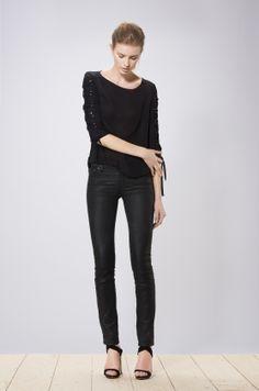 Michi blouse black