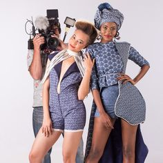 #BotswanaFashion #BotswanaDay #BotswanaFashion  Credits  Photography Image Lounge Botswana @Igor  Make up | Bojelo Marari  Designers | @Nature wears Aobakwe Molosiwa leteisi playsuit & Fringe neckpiece; @KaoneMonamodi wears off the shoulder prop by Botho Chalebgwa; Leteisi Mullet top by @LeboMerafhe;  leteisi shorts and turban by GaTsh Fros.  Models | Nature Inger & Kaone Monamodi  Styling | @gatshfros...