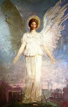 """Noon"" by Abbott Handerson Thayer"