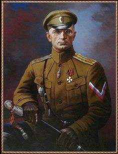 Major General Mikhail Drodosky White officer in Southern Russia. Ww1 History, Military History, Russian Revolution 1917, Back In The Ussr, Imperial Russia, Soviet Union, Eastern Europe, World War I, Army
