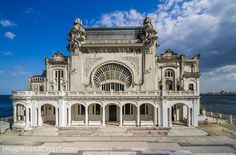 Image and Sound Expert: Cazino Constanta Notre Dame, Building, Winter, Summer, Travel, Image, Construction, Summer Time, Trips