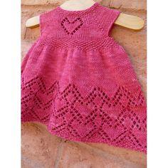 Baby Hat Knitting Pattern, Crochet Cardigan Pattern, Knitting Patterns Free, Free Knitting, Spool Knitting, Yarn Shop, Baby Sweaters, Knit Dress, Lace Dress
