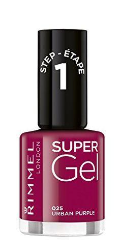 Rimmel London Shade 25 Urban Purple Super Gel Nail Polish…