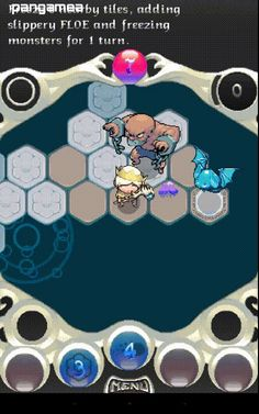 Auro - Monster bumping hexagon board RPG for iOS and Android Mobile Game, Android, Games, Board, Rpg, Gaming, Game