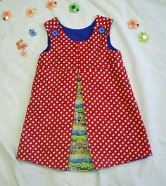 Girl's Pinafore Dress