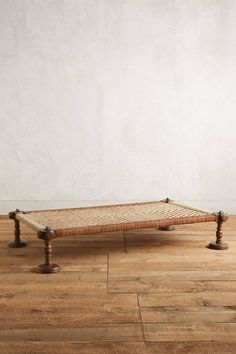 Woven Leather Daybed - anthropologie.com