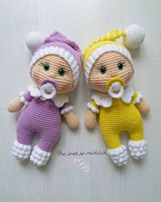 In this article I will share the amigurumi doll pacifier doll free crochet pattern. You can find everything you want about Amigurumi. Doll Amigurumi Free Pattern, Crochet Amigurumi Free Patterns, Crochet Doll Pattern, Amigurumi Doll, Crochet Toys, Free Crochet, Little Doll, Soft Dolls, Crochet Projects