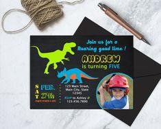 Dinosaur Birthday Invitation, Dinosaur Invitation, Dinosaur Birthday Party, Roaring Birthday Party Invitation, Dinosaur Dig, PRINTABLE