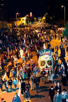 The 25th Annual All Souls Procession Weekend - an annual event honoring those who have passed on before us - is an event filled with creative costumes and unbelievable makeup artistry and more! The procession keeps growing every year and is coming up November 9th (2014) in Tucson, Arizona!