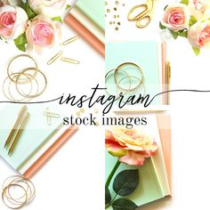 Instagram Stock Image Bundle by studiochicdesigns on @creativemarket