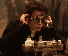 Johnny Depp in Sleepy Hollow sporting a rather ingeniouis number here